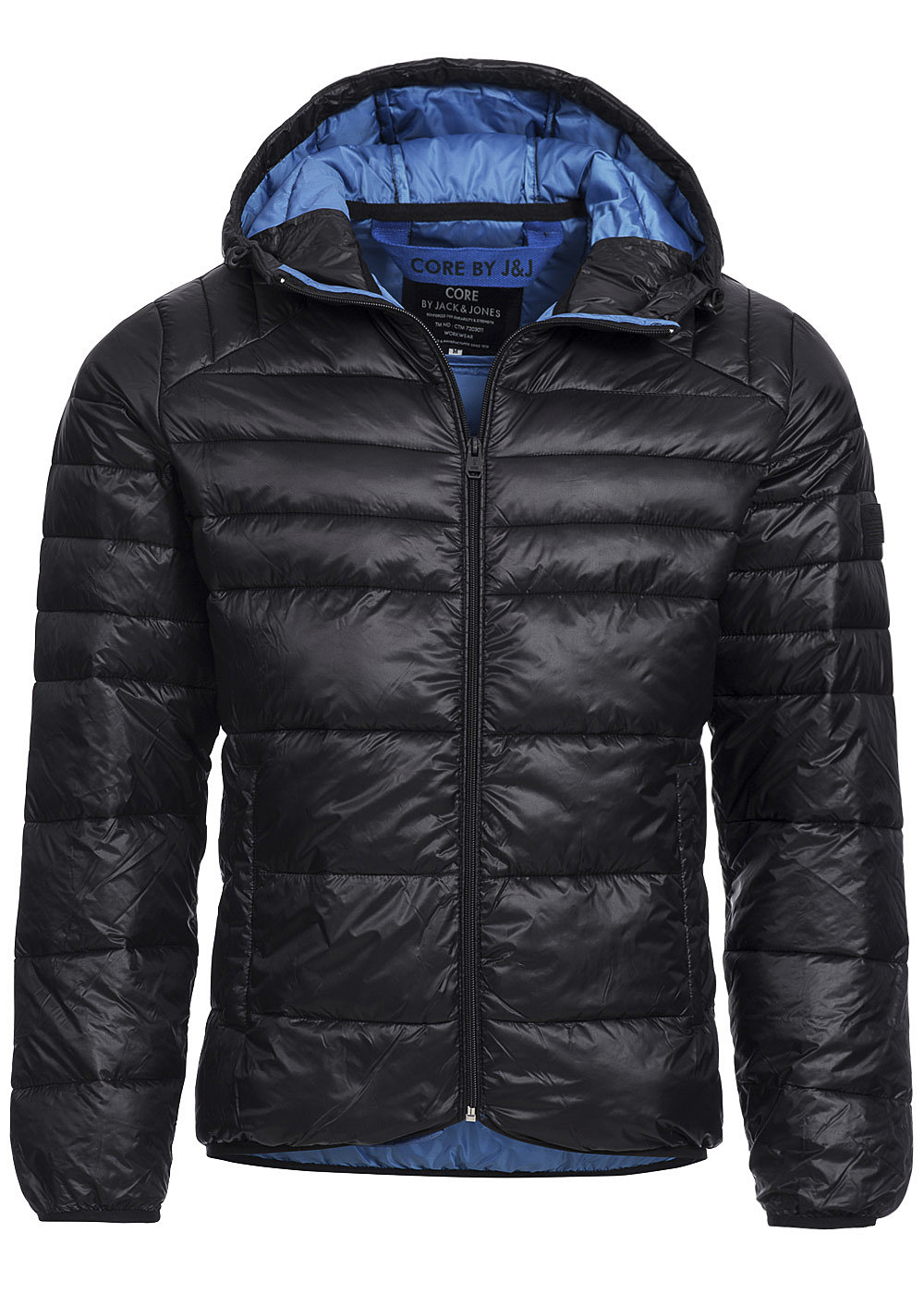 jack and jones bergangsjacke baron puffer jacket camp. Black Bedroom Furniture Sets. Home Design Ideas