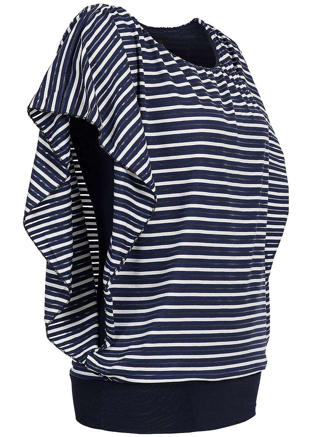 styleboom fashion damen 2in1 shirt u boot ausschnitt. Black Bedroom Furniture Sets. Home Design Ideas