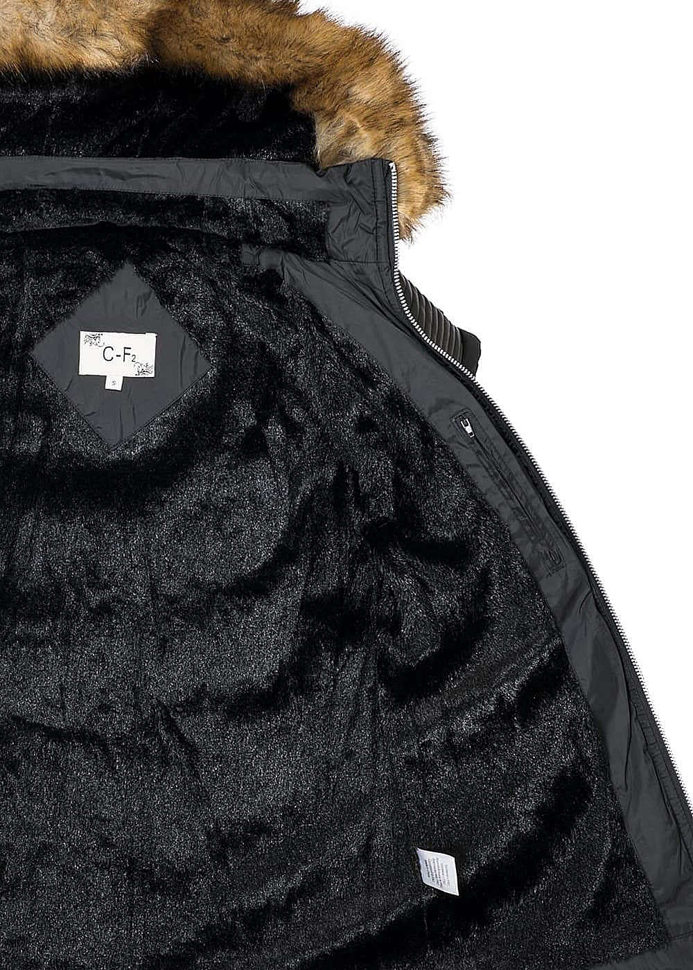seventyseven lifestyle jacke damen winter jacke mit g rtel. Black Bedroom Furniture Sets. Home Design Ideas