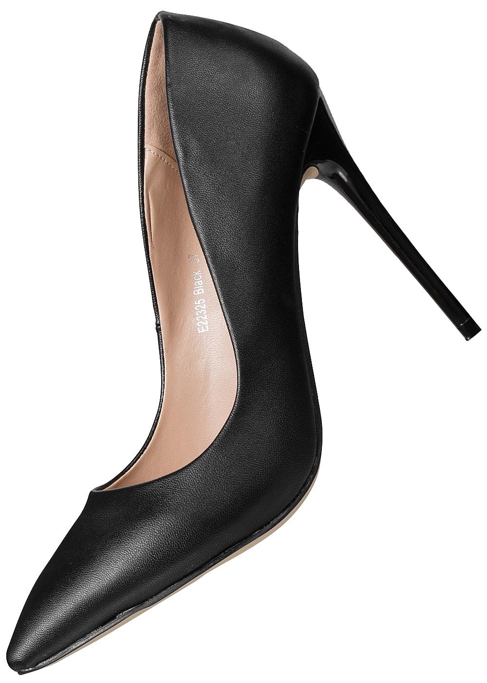 Damen Lifestyle Schuh Absatz Schwarz Seventyseven 11cm Pumps fRwHFSEWEq