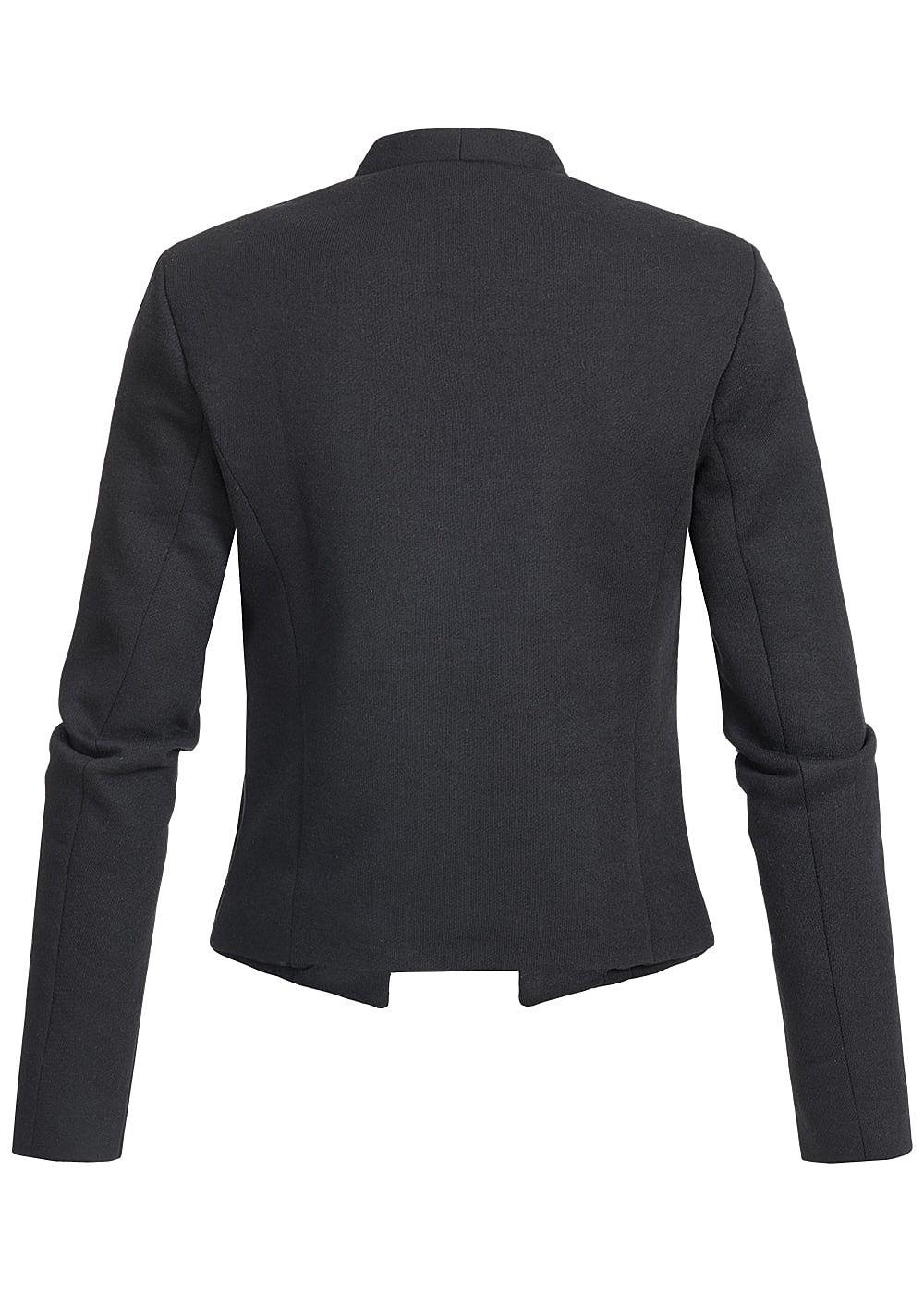 only damen blazer ohne kragen gef ttert leichte. Black Bedroom Furniture Sets. Home Design Ideas