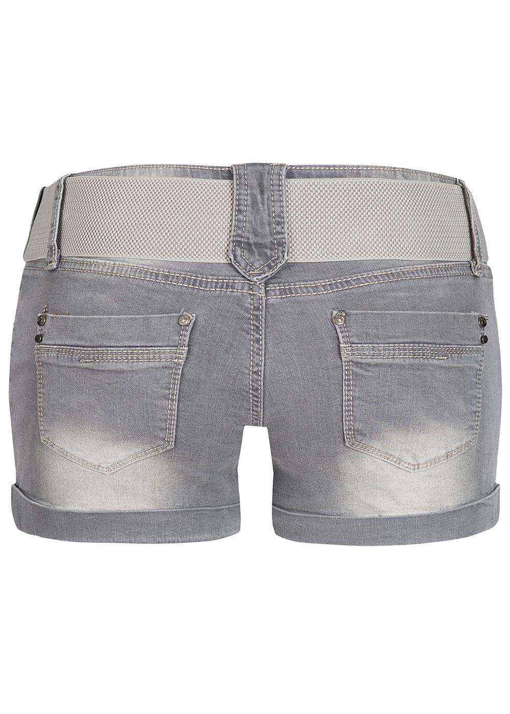 seventyseven lifestyle damen jeans shorts 4 pockets inkl. Black Bedroom Furniture Sets. Home Design Ideas