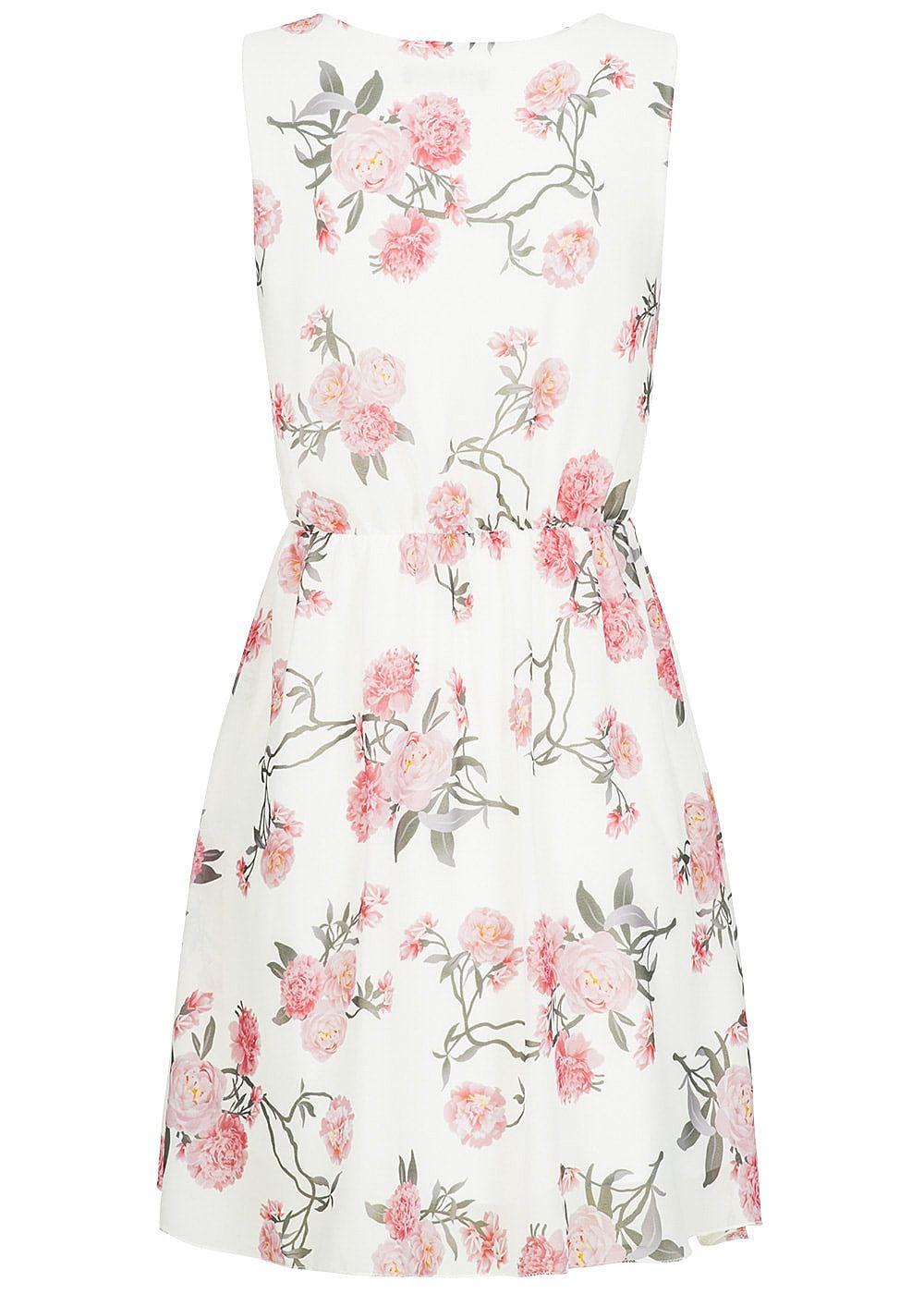 Styleboom Fashion Damen Kleid Blumen Muster Röhren ...