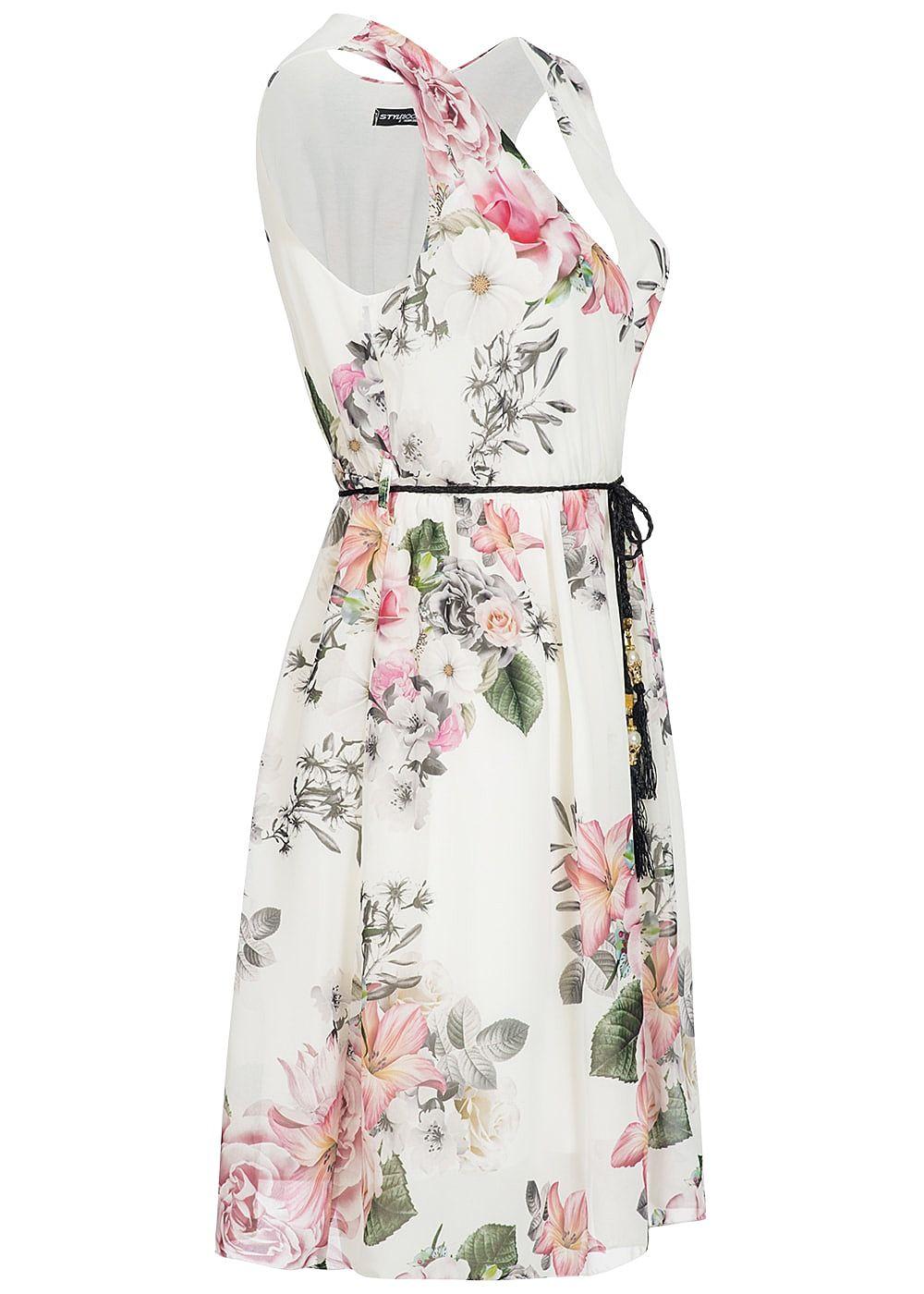 Kleid Blumen Damen