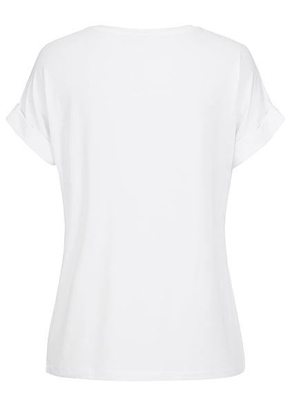 ONLY Dames NOOS Solid T-Shirt wit