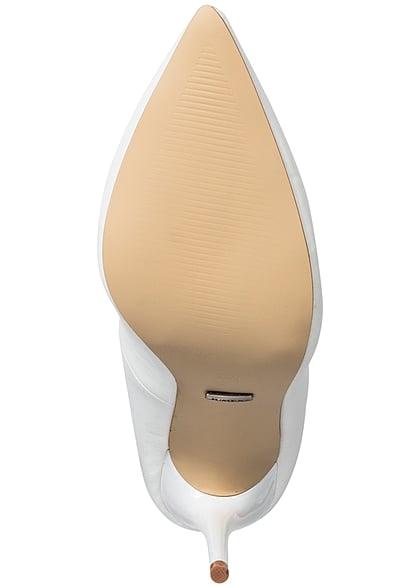 Seventyseven Lifestyle Schuh Damen Pumps Absatz 11cm weiss