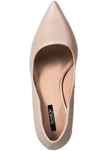 Seventyseven Lifestyle Schuh Damen Pumps Absatz 11cm beige