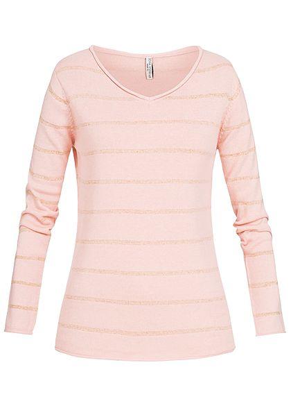 eight2nine damen pullover sweater streifen rollkante by. Black Bedroom Furniture Sets. Home Design Ideas