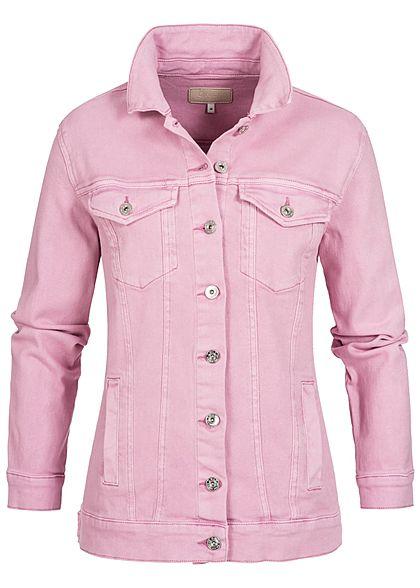 Only damen oversize jeansjacke 2 brusttaschen 2 deko for Jeansjacke oversize damen