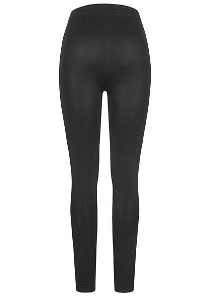 Urban Classics Dames Basic Slim Fit Leggings zwart