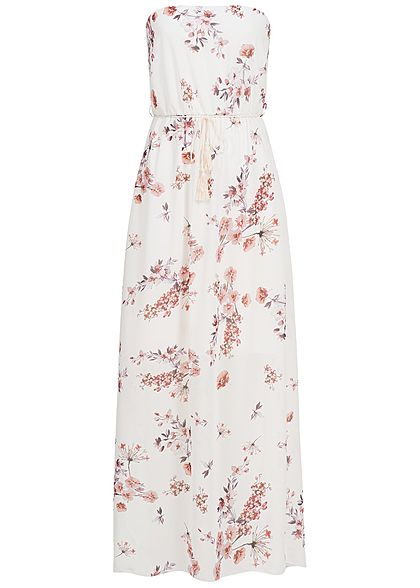 2465337e808b XL · XXL · Styleboom Fashion Damen Bandeau Longform Kleid ...