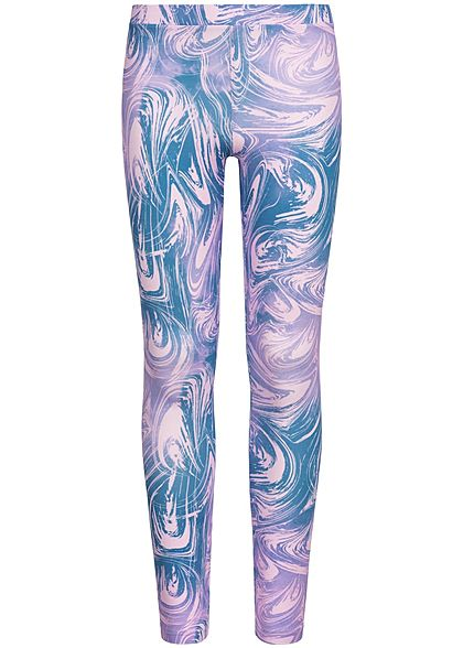 Name It Kids Mädchen Leggings Abstract Print lilac snow lila - Art.-Nr.: 19051794