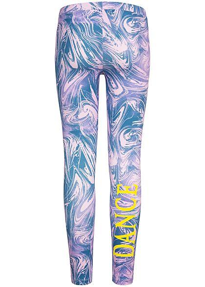 Name It Kids Mädchen Leggings Abstract Print lilac snow lila