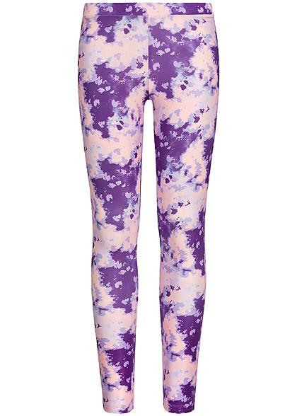 Name It Kids Mädchen Leggings Abstract Dance Print pansy rosa lila - Art.-Nr.: 19051795