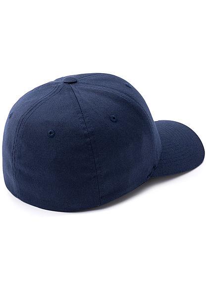 Flexfit Herren Basic Cap navy blau