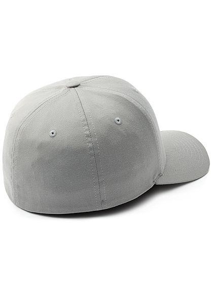 Flexfit Herren Basic Cap silber