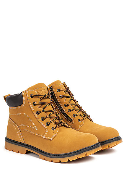 Urban Classics Heren Schoen Basic Winter Boots honey bruin