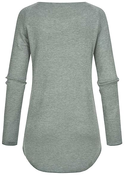 ONLY Dames NOOS Longsleeve chinois groen