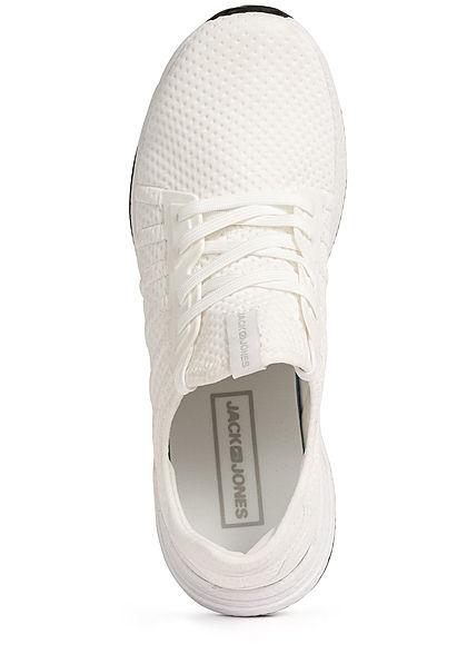 Jack and Jones Herren NOOS Schuh Running Mesh Sneaker bright weiss