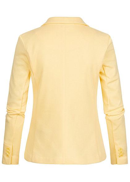 Vero Moda Damen Blazer 2-Pockets pale banana gelb