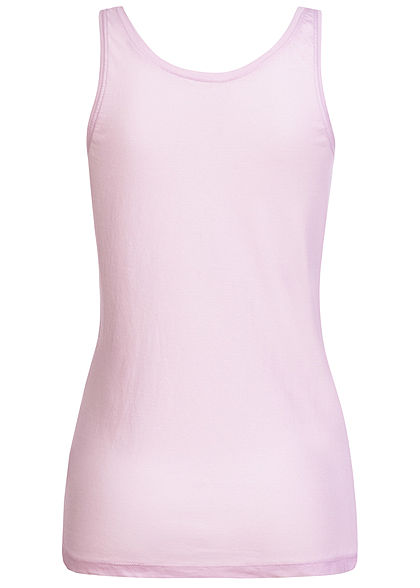 Sublevel Damen Tank Top Stay Magic Print Pailletten tender lila pink