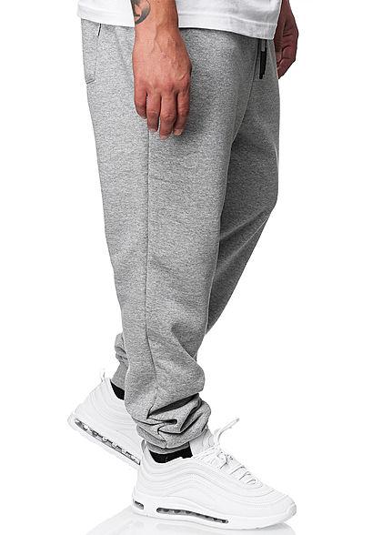 ONLY & SONS Herren NOOS Basic Jogginghose Sweatpant 3-Pockets hell grau melange