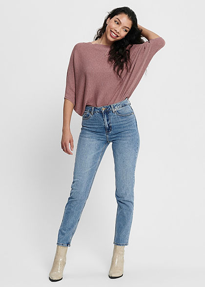 JDY by ONLY Dames NOOS 1/2 Vleermuismouw Trui wistful mauve