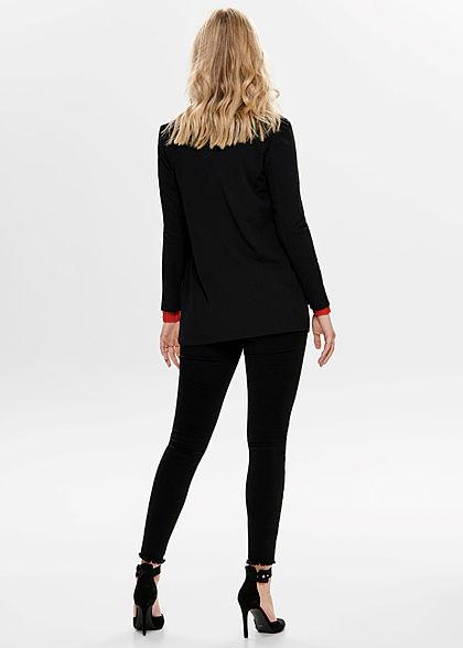 JDY by ONLY Dames NOOS Long Blazer Cardigan zwart