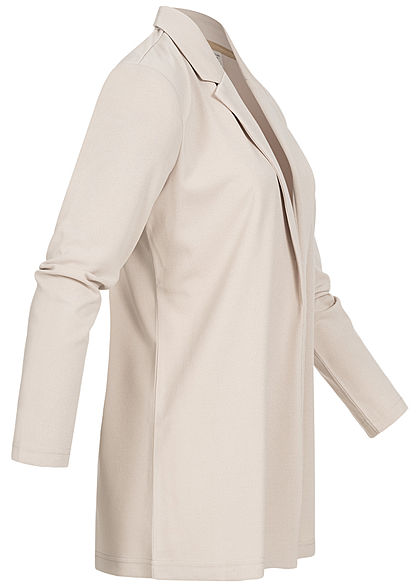 JDY by ONLY Dames NOOS Long Blazer Cardigan chateau grijs beige