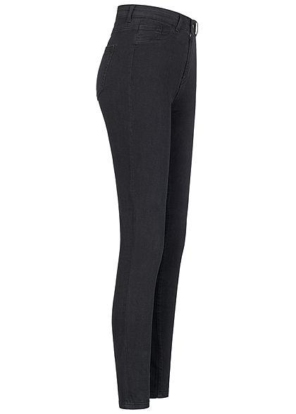 TALLY WEiJL Dames High-Waist Skinny Jeans 2-Pockets zwart