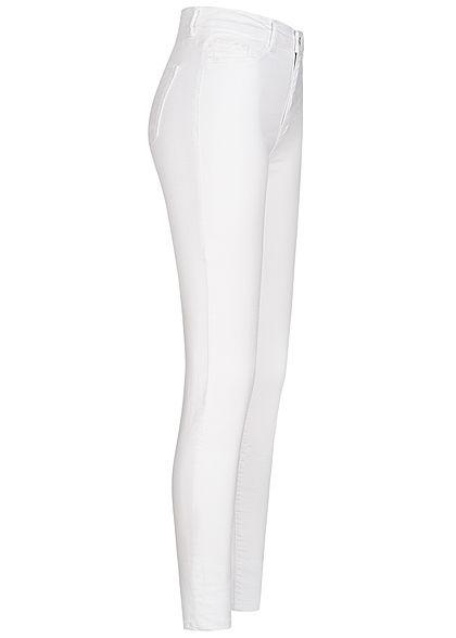 TALLY WEiJL Dames High-Waist Skinny Jeans 2-Pockets wit