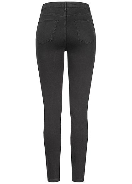 TALLY WEiJL Dames High-Waist Skinny Jeans 5-Pockets zwart denim