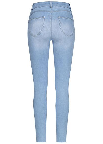 TALLY WEiJL Dames Push-Up Jeans High-Waist 5-Pockets medium indigo wash