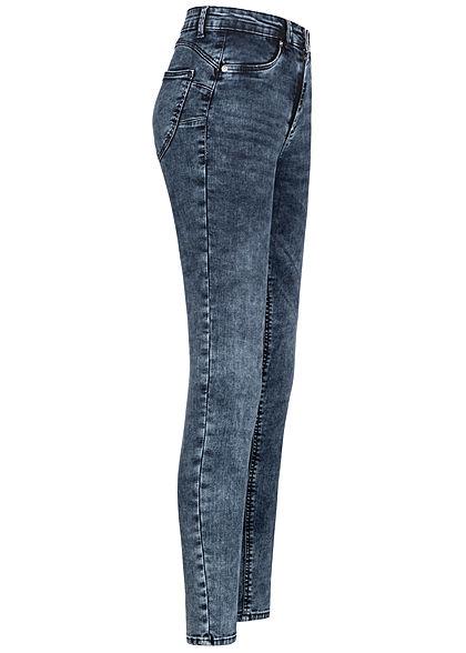 TALLY WEiJL Dames Push-Up Jeans High-Waist 5-Pockets mid dark indigo