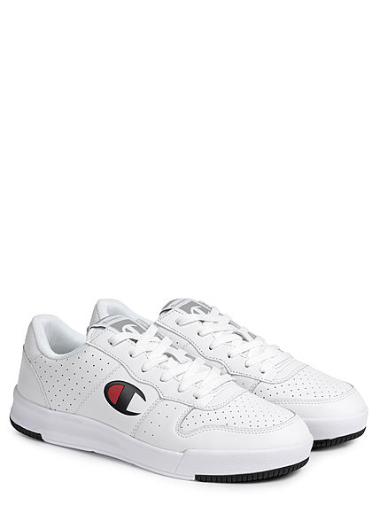 Champion Heren Schoen Low Cut Sneaker unicolor wit - Art.-Nr.: 21031390