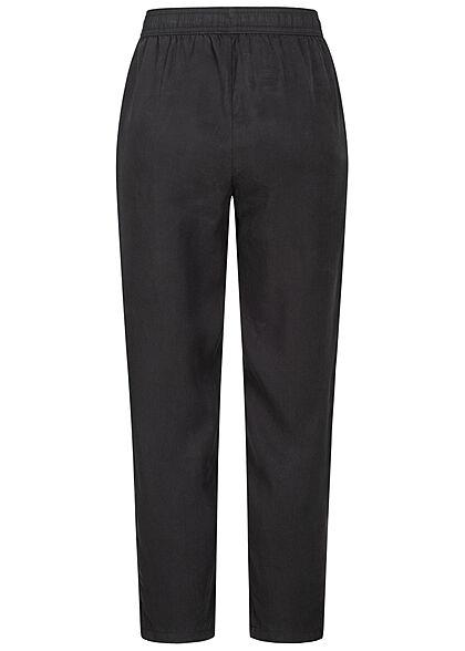 Tom Tailor Dames Harem Broek Relaxed Fit washed zwart
